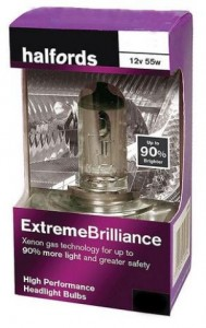 Галогеновая лампа Halfords Advanced Extreme Brilliance