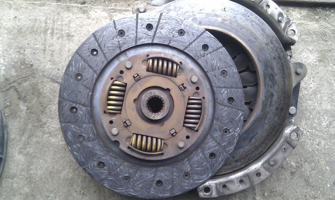 тюнинг_NissanPrimera_двигатель сцепление