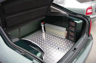Как сделать багажник ваз 2112