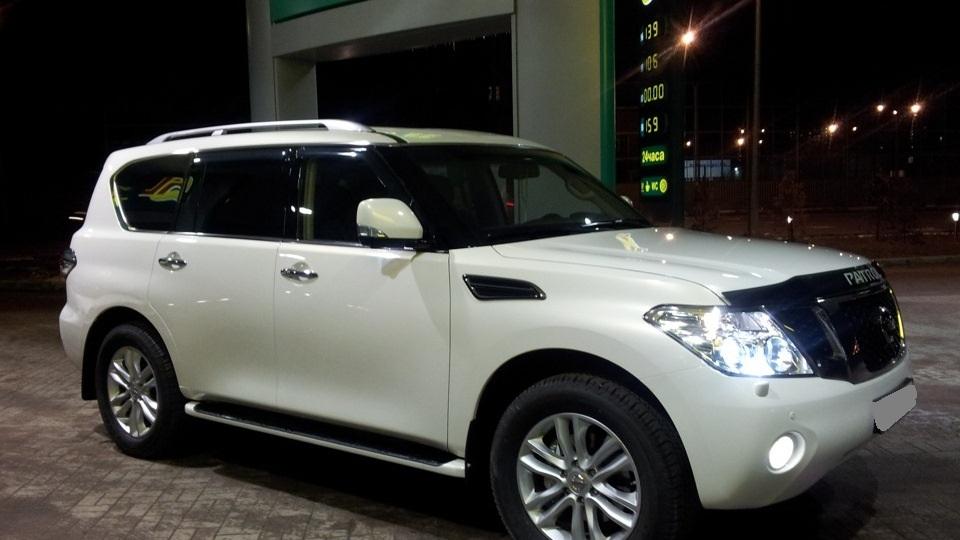 тюнинг_Nissan_Patrol_лимузин