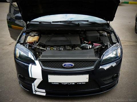 тюнинг Ford Focus 2_двигатель 1
