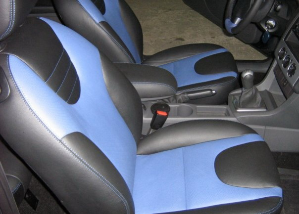 тюнинг Ford Focus 2_салон 2