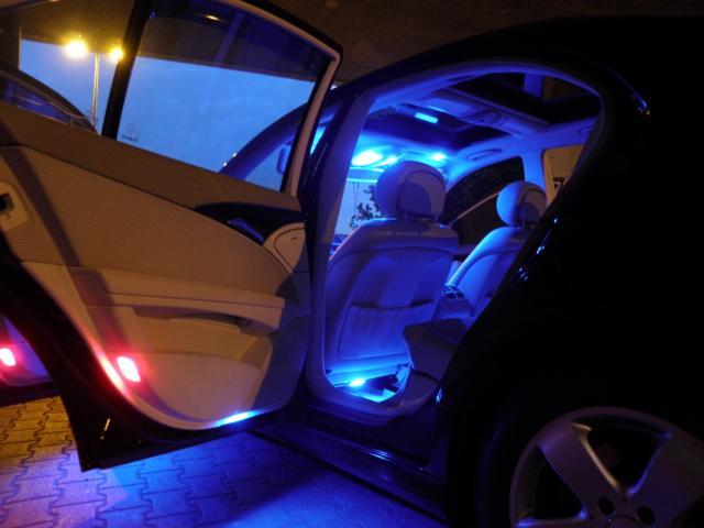 тюнинг Ford Focus 3_салон подсветка 1