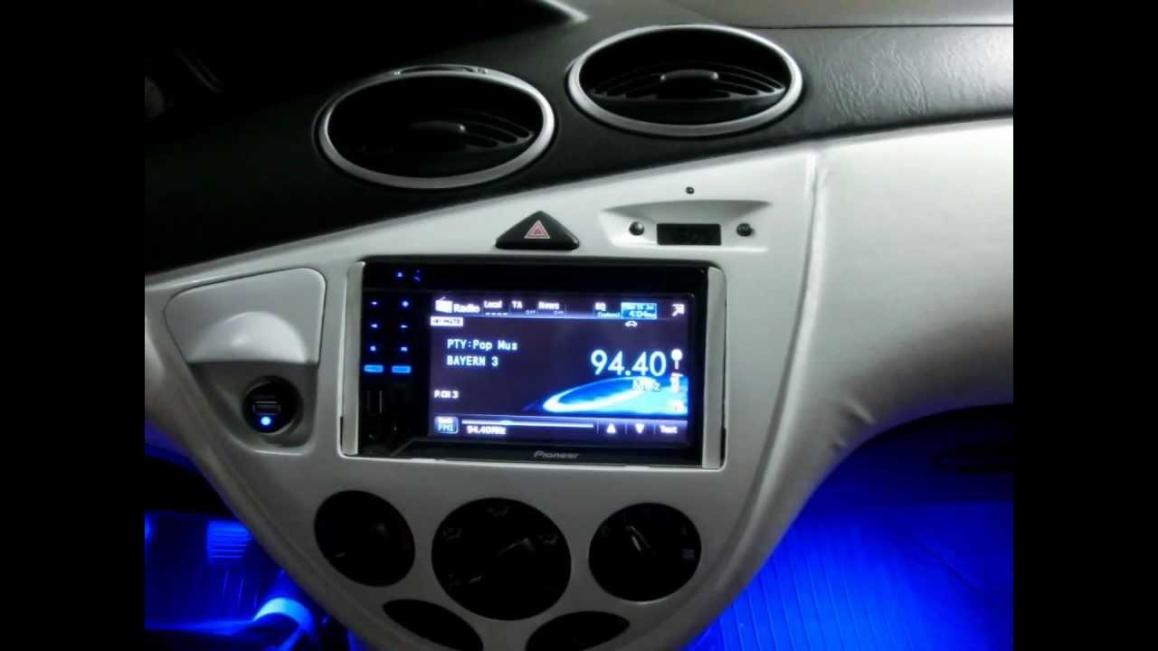 тюнинг Ford Focus 3_салон подсветка 4