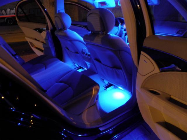 тюнинг Ford Focus 3_салон подсветка 5