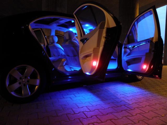 тюнинг Ford Focus 3_салон подсветка 7