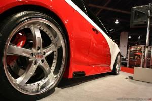 тюнинг Toyota Camry шасси 4 шины