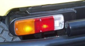 тюнинг Toyota Land Cruzer задний фонарь