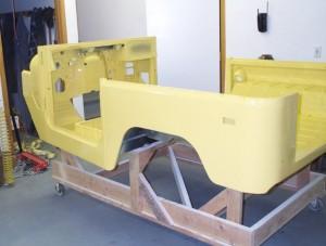 тюнинг Toyota Land Cruzer кузов окрашенный