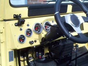 тюнинг Toyota Land Cruzer прибор.панель слева