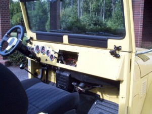 тюнинг Toyota Land Cruzer прибор.панель справа