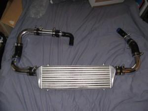 Тюнинг Nissan Almera двигатель 1 интеркулер
