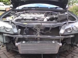 Тюнинг Nissan Almera двигатель 2 интеркулер