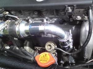 Тюнинг Nissan Almera двигатель 4 интеркулер