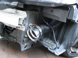 Тюнинг Nissan Almera двигатель 6 воздухозаборник