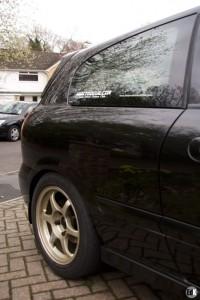 Тюнинг Nissan Almera кузов 6 наклейки