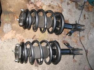 Тюнинг Nissan Almera шасси 1 амортизаторы