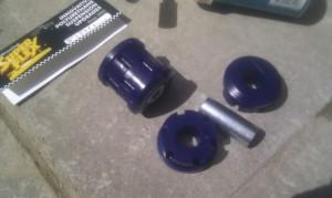 Тюнинг Nissan Almera шасси 6 втулки