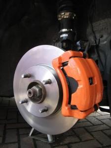 Тюнинг Nissan Almera шасси 7 тормоза
