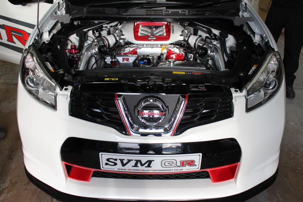 Тюнинг Nissan Qashqai R двигатель 1