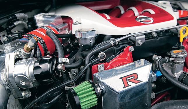 Тюнинг Nissan Qashqai R двигатель 2