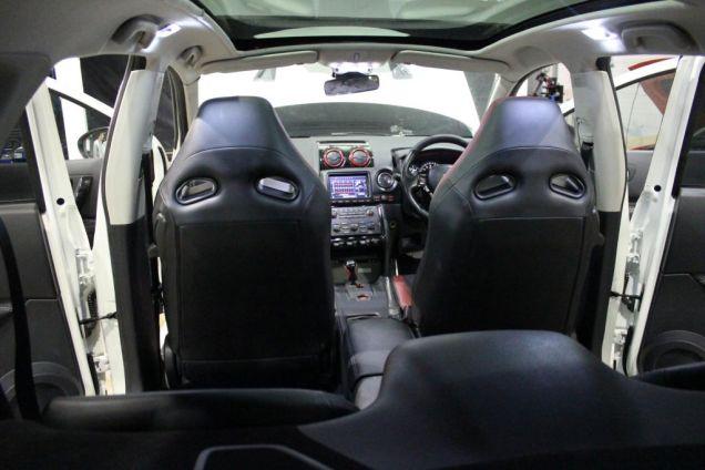 Тюнинг Nissan Qashqai R салон 1