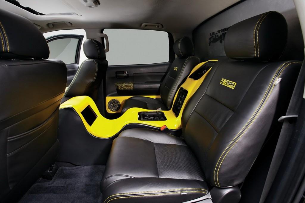 Тюнинг Toyota Tundra салон 1