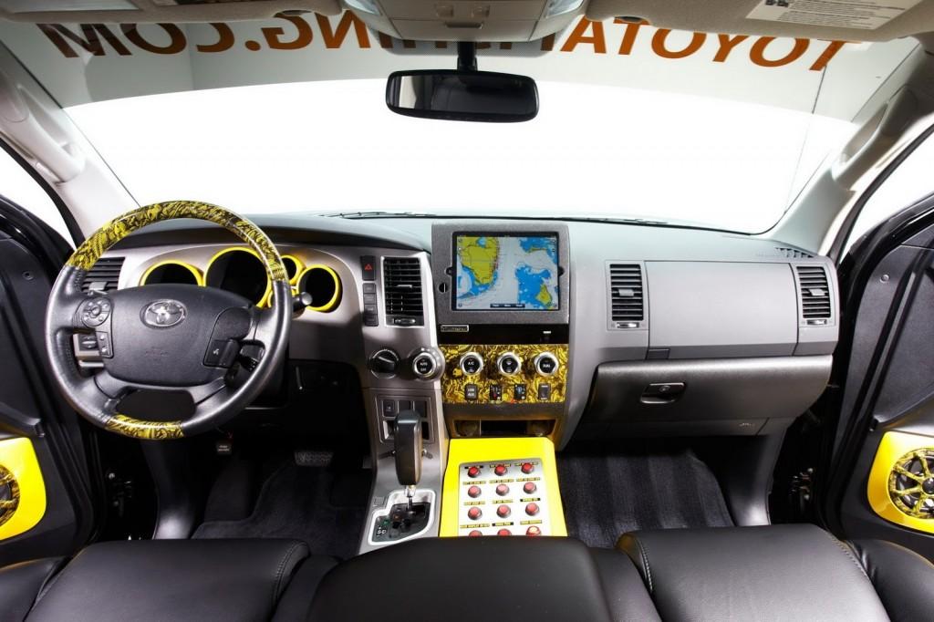 Тюнинг Toyota Tundra салон 2