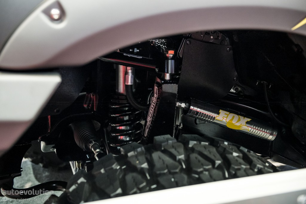 Тюнинг Toyota Tundra шасси 1 подвеска