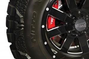 Тюнинг Toyota Tundra шасси 3 тормоза