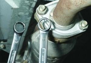 Замена катализатора и резонатора на ваз2123