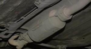 Замена катализатора на ваз2109