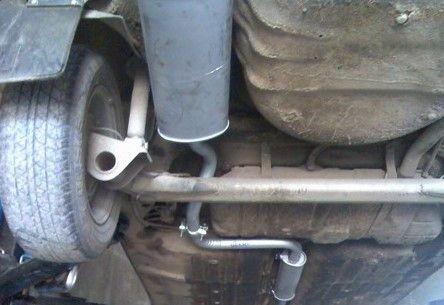 Выхлопная система ВАЗ 2114: устройство, ремонт и тюнинг