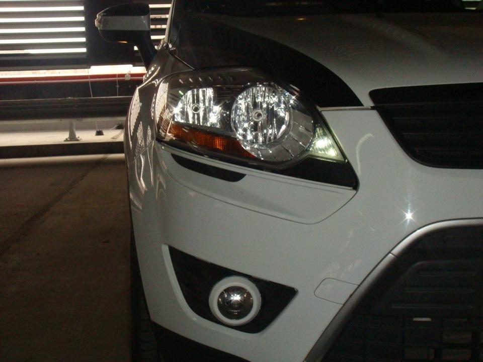 Тюнинг Ford Kuga, кузов 2 спереди