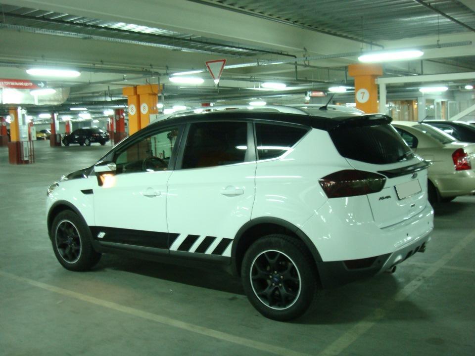 Тюнинг Ford Kuga, шасси 1 диски