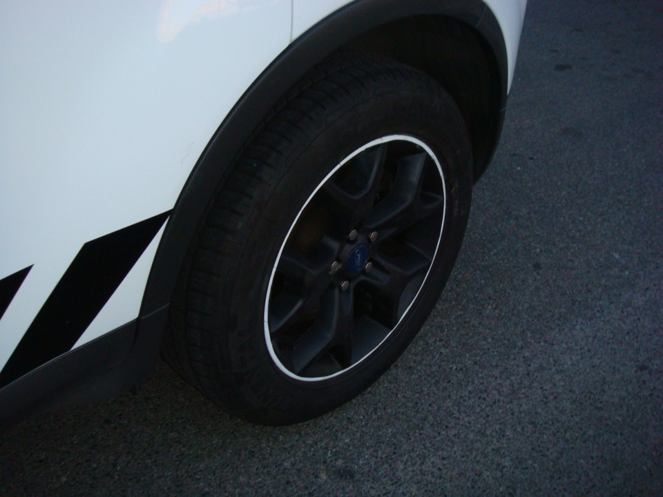 Тюнинг Ford Kuga, шасси 2 диски