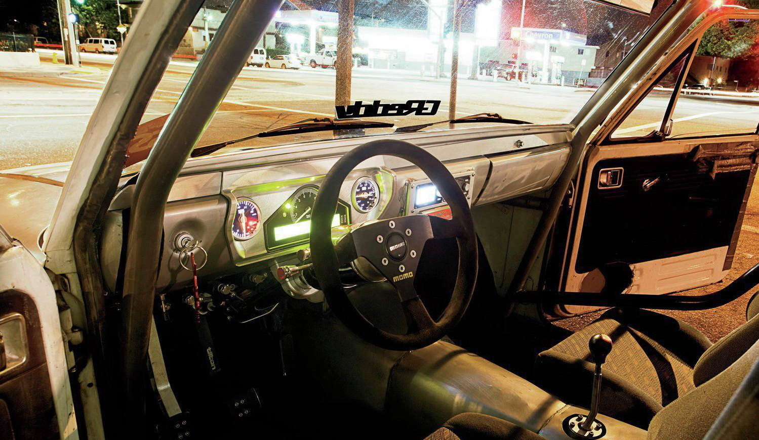 1972-Toyota-Hilux-Pickup, салон 1