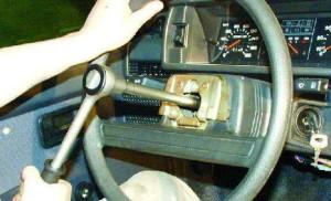 Снимаем руль с ваз2108