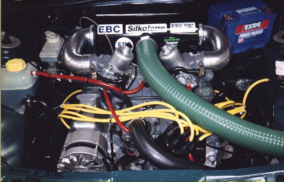тюнинг_Ford_Sierra_двигатель 1