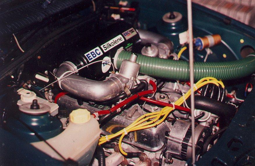 тюнинг_Ford_Sierra_двигатель 2