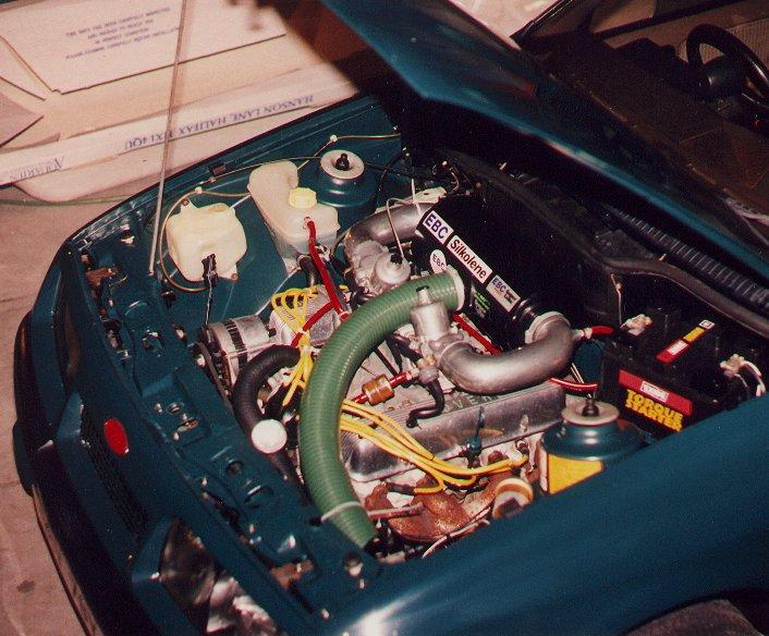 тюнинг_Ford_Sierra_двигатель 3