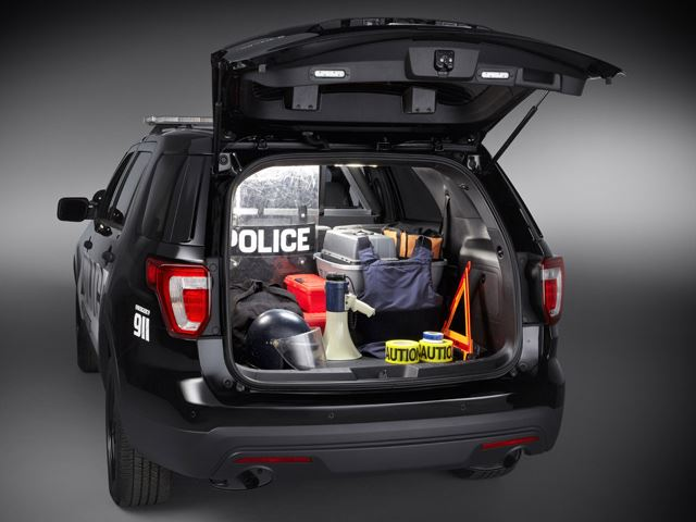 Tuning Ford Explorer салон 2 багажник