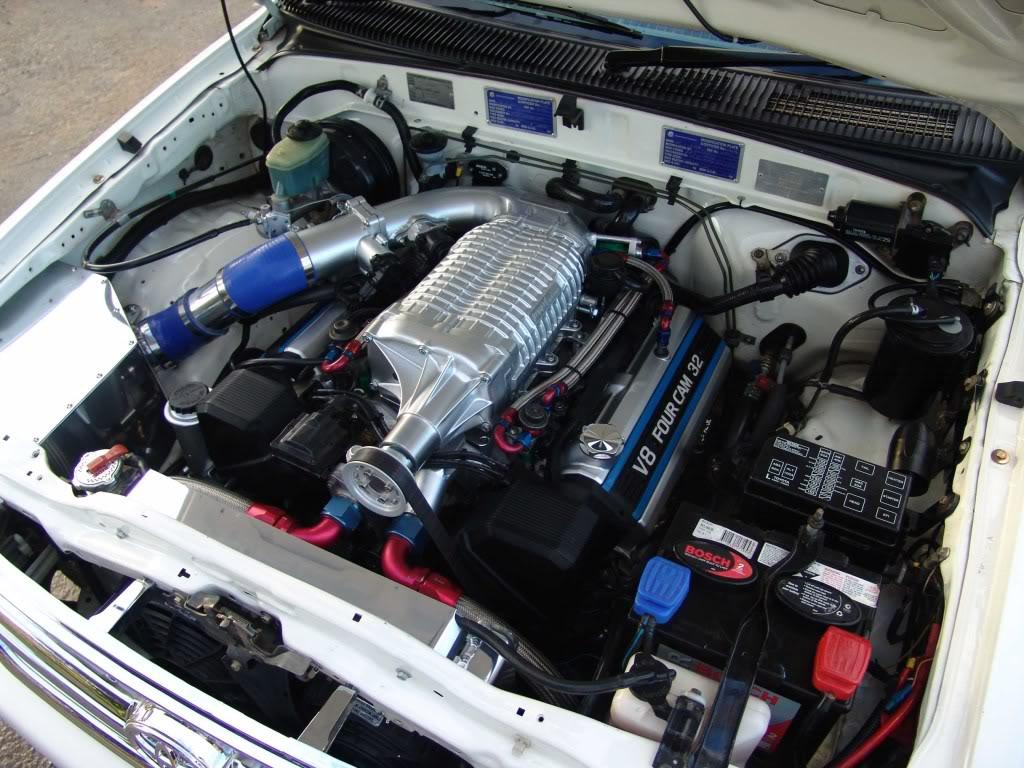 Tuning Toyota Landcruiser двигатель 3