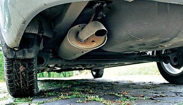 Ремонт выхлопной системы автомобиля Лада Гранта (Ваз 2190)
