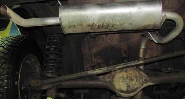 Устройство, ремонт и тюнинг выхлопной системы ВАЗ 2123 Chevrolet Niva