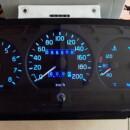 Тюнинг панели приборов ГАЗ 3110 «Волга»: меняем штатную подсветку