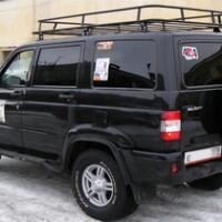Как сделать багажник на крышу для УАЗ Патриот