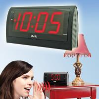 Электронные настольные говорящие часы, будильник