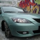 Защита картера двигателя Mazda 3